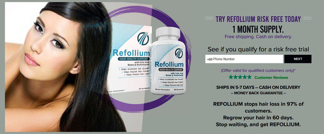 Refollium 6 http://testoultrareview.in/refollium-hair-growth/