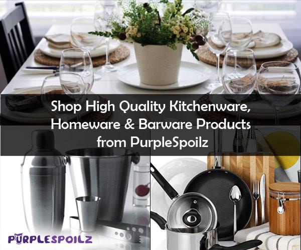 Shop High Quality Kitchenware, Homeware & Barware  PurpleSpoilz