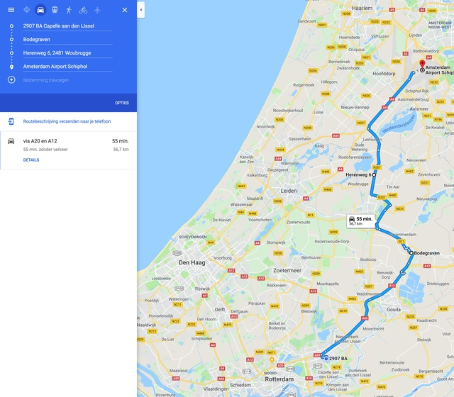 Capelle:Schiphol Hyundai Ioniq Electric