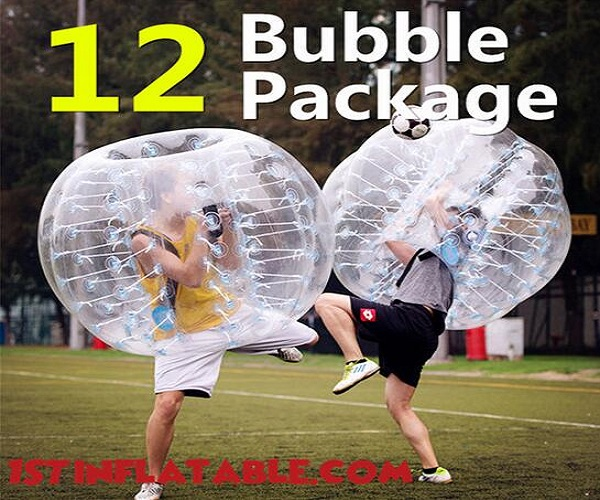 bubblesoccer600 1stinflatable Bubble Soccer