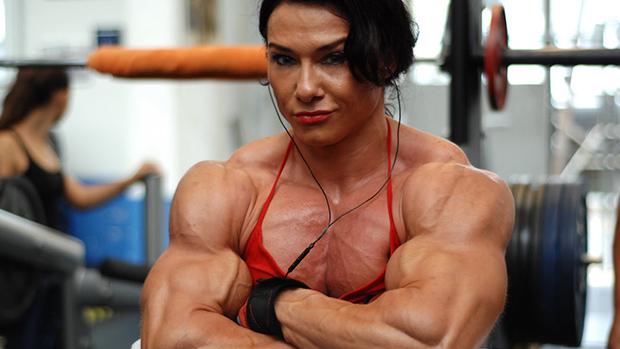 Bodybuilder Picture Box