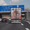 Heckansichten Eindhoven (1) - LKW-Werbung, Heckansichten