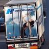 Heckansichten Hindelang A4 ... - LKW-Werbung, Heckansichten