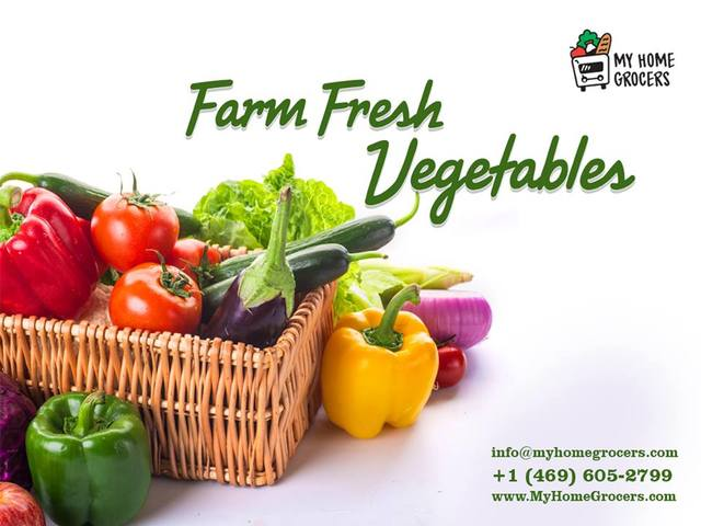 Online Fruits and Vegetables Shopping With Sameday MyHomeGrocers