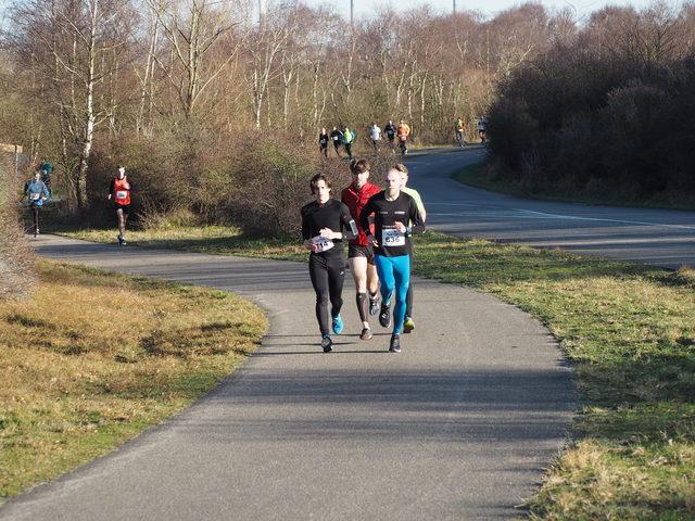 P1070163 5 en 10 km Westvoorne 7-1-2018