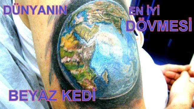 dünya dövmesi istanbul Dövmeci