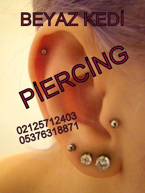 tragus kıkırdak piercing Piercing Bakırköy