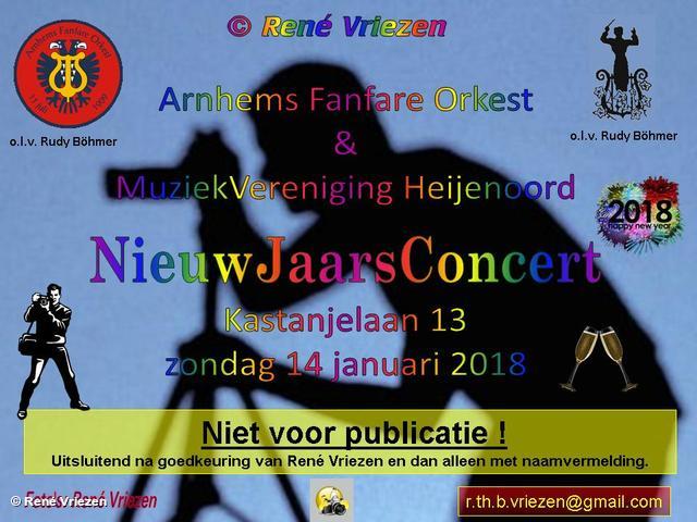 R.Th.B.Vriezen 20180114 000 Arnhems Fanfare Orkest & Muziekvereniging Heijenoord NieuwJaarsConcert K13 Velp zondag 14 januari 2018