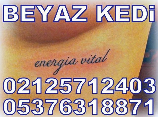 yazı dövmeleri Dövme Salonu Bakırköy Dövmeci