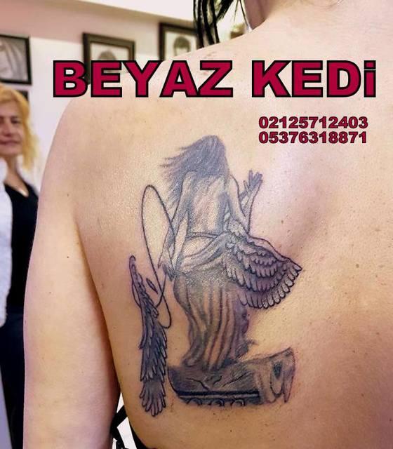 bakırköy dövmeci Dövme & Piercing Salonu Beyaz Kedi