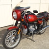 1981 BMW R100S #6240140, Smoke Red. 60,090 Miles. Koni Shocks; Progressive Fork Springs w/ Anti Dive Kit; 336 Sport Cam; Stainless Mufflers; Sargent Sport Seat; Reynolds Ride-Off Stand; Brown Side Stand; Napoleon Baren Mirrors; Euro Headlight switch; New