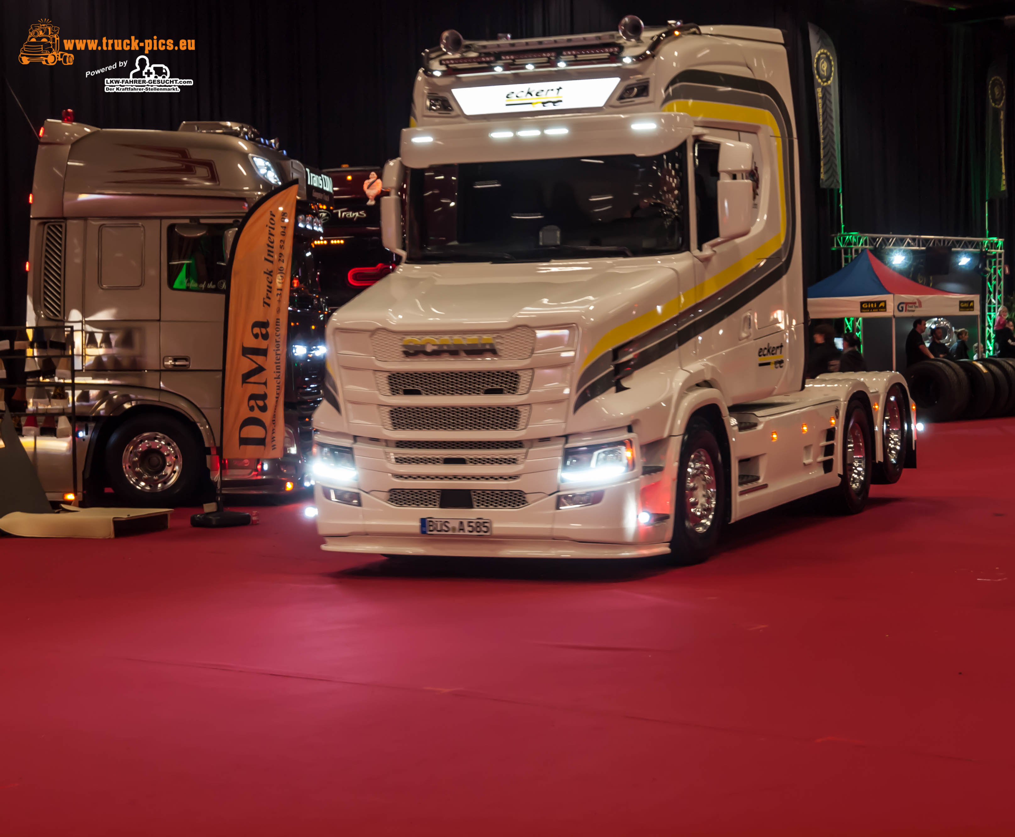 Ciney Truck Show  Red Carpet Trucking