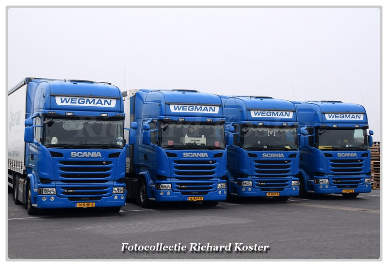 Wegman Line-up Scania's (0)-BorderMaker - Richard