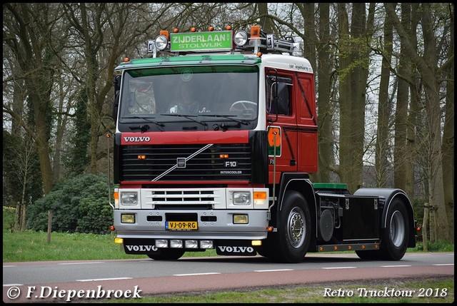 VJ-09-RG Volvo F10 Zijderlaan3-BorderMaker Retro Truck tour / Show 2018