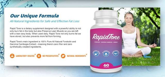 Rapid Tone Diet Picture Box