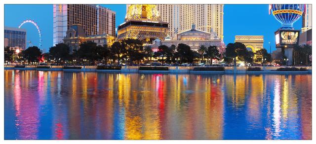 Vegas 2018 Panorama 1 Las Vegas