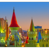 Excalibur Panorama 1crop - Las Vegas