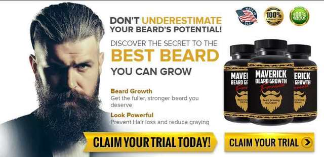 Maverick Beard Growth Picture Box