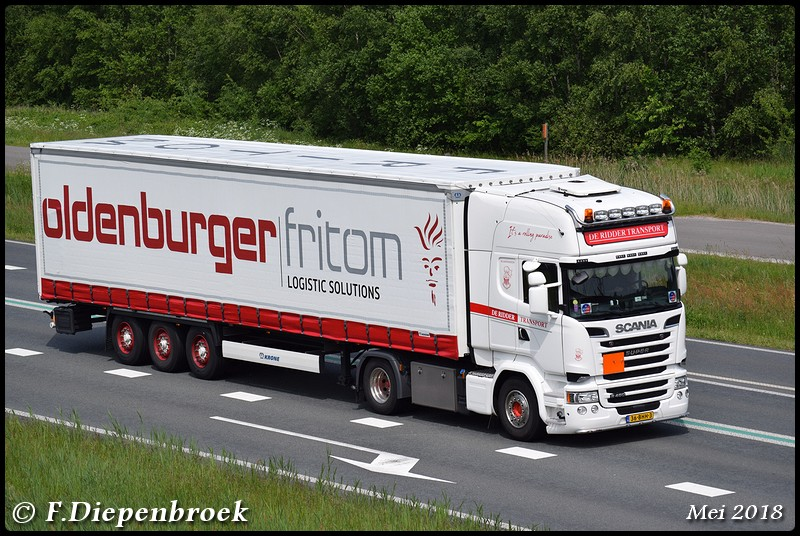 36-BHH-3 Scania R450 De Ridder2-BorderMaker - 2018