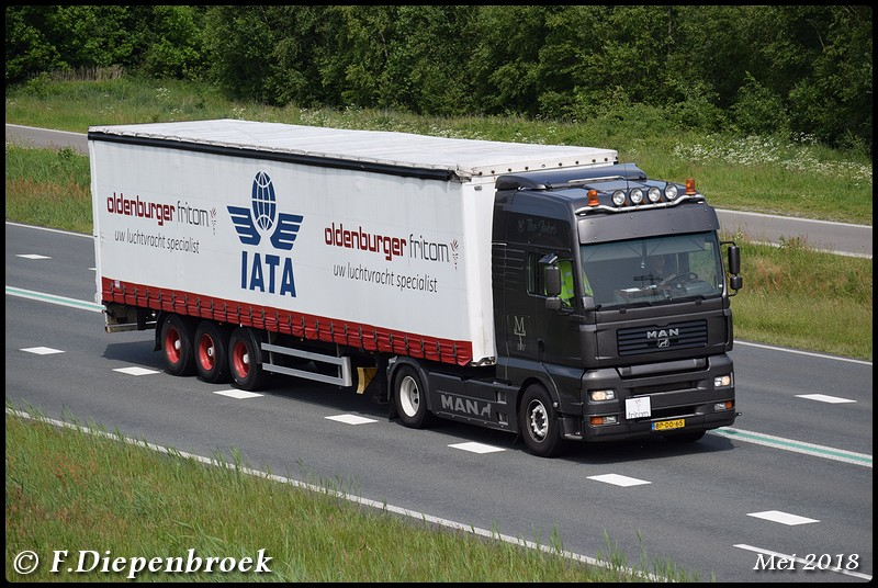 BP-DD-65 MAN TGA Tapken Transport-BorderMaker - 2018
