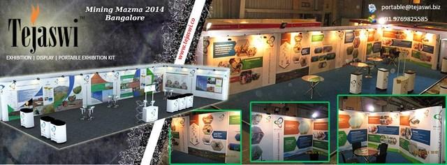 Mining-Mazma Exhibition Stand Designer Mumbai - Tejaswi Exhibition