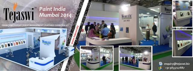 Paint-India Turnkey Exhibition Stand Services - Tejaswi Exhibition