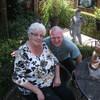 Alie en John 04-07-18 3 - In de tuin 2018