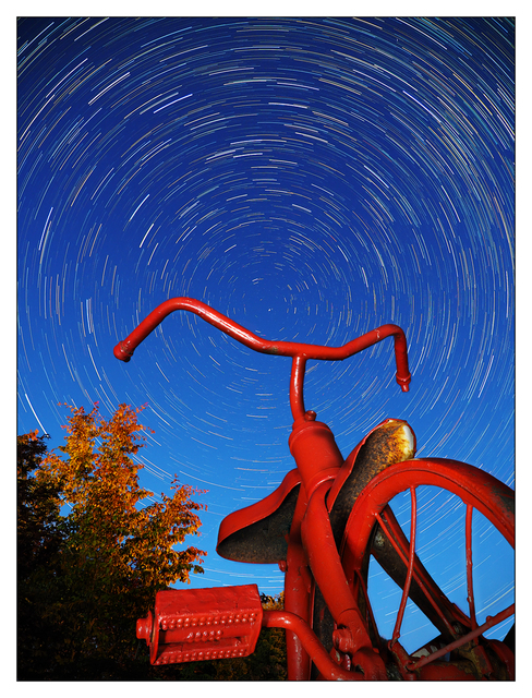 Tricycle Star Trails 2018 b Comox Valley