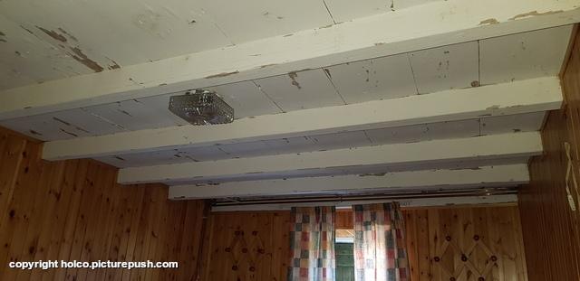 plafond slaapkamer Casa Teresa