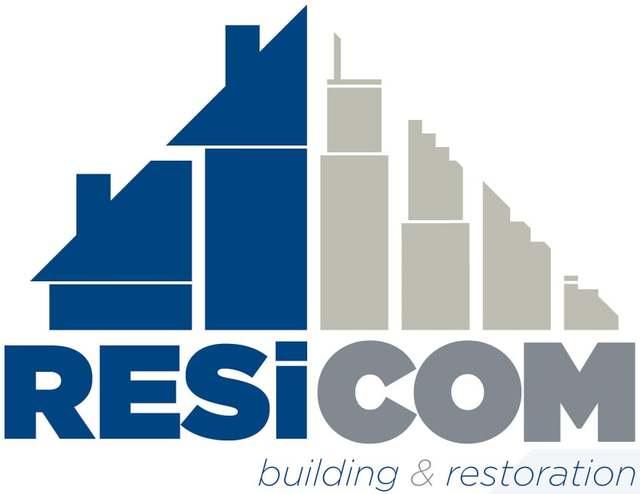 water damage repair Resicom Building & Restoration