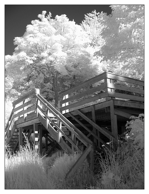 porch -infra Infrared photography