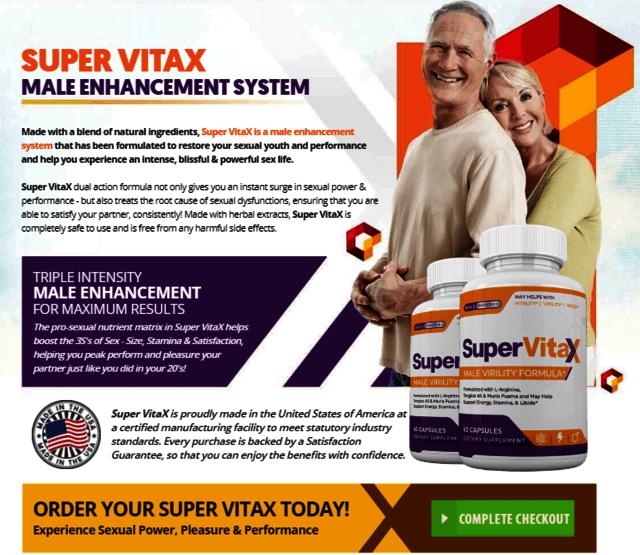 Super VitaX3 What is Super VitaX ?