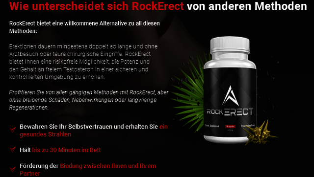 What is RockErect Male Enhancement? RockErect