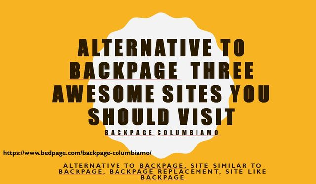 backpage columbiamo Alternative to BackpageThree Awesome Sites You Should Visit