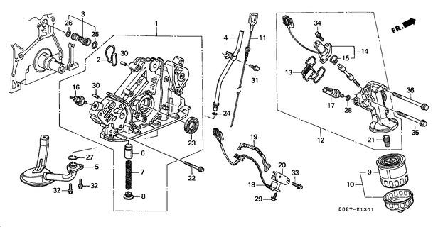 1998 1999 2000 2001 2002 Accord Coupe V6 Engine Oil Leak New Seal Engine Faults Honda 6 Club
