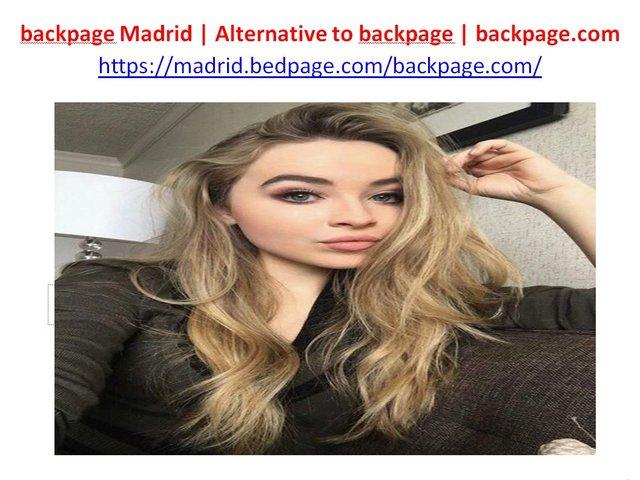 backpage madrid backpage Madrid