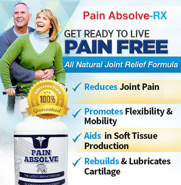 Pain Absolve RX2 Pain Absolve RX Will Give Quick Relief From Joint Damage!