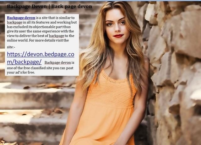 backpage Devon Backpage Devon | Back page devon