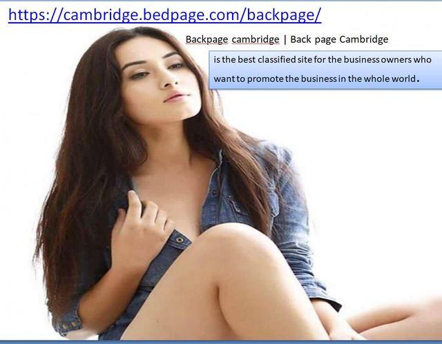 backapge cambridge Backpage cambridge | Back page Cambridge