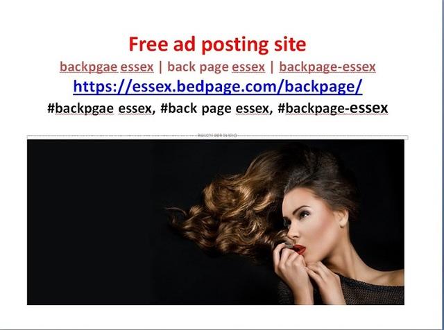 backpage essex  backpgae essex