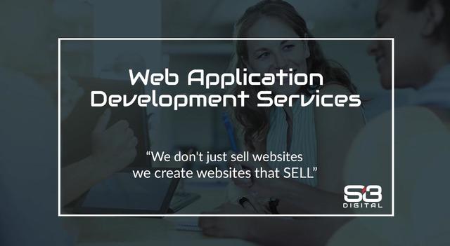 Web Application Development Services Website Development