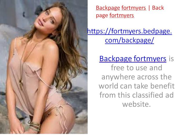 Backpage fortmyers Backpage fortmyers | Back page fortmyers