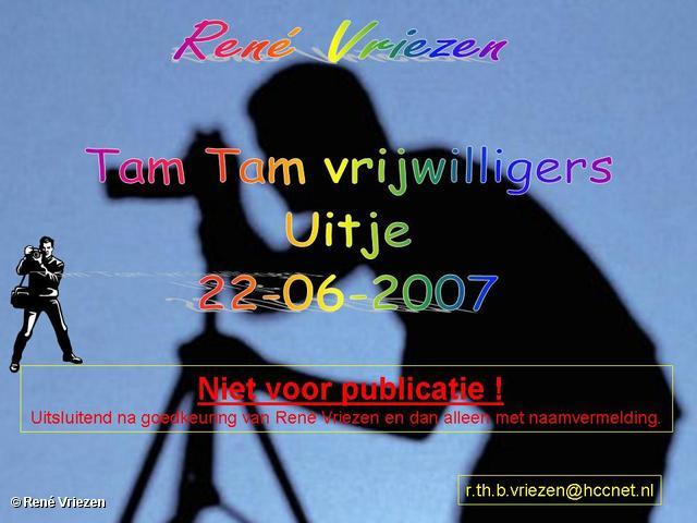 René Vriezen 2007-06-22 #0000 Tam Tam vrijwilligers Uitje 22-06-2007
