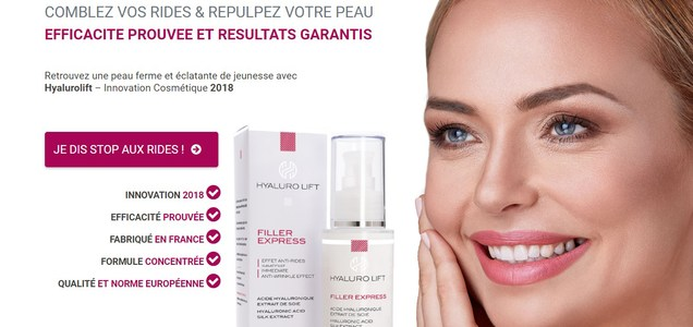 crop Hyalurolift Anti-Aging Serum, Features and Prices for France