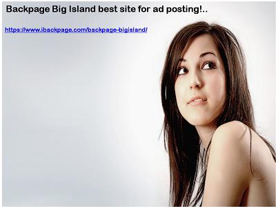 Backpage Big Island Backpage Big Island
