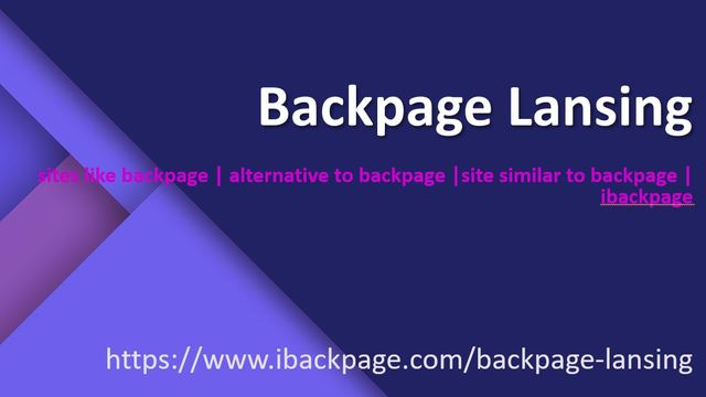 Backpage lansing image ibackpage