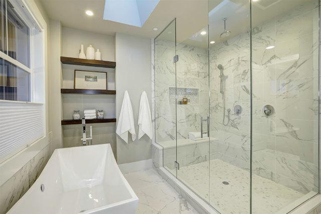 Bathroom-Renovations Walker General Contractors