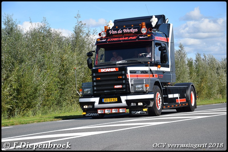 BD-FR-82 Scania T143M 420 v.d Werken-BorderMaker - OCV Verrassingsrit 2018