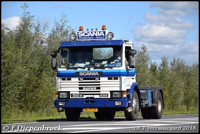 BL-77-ST Scania 92M Scania Rotterdam-BorderMaker OCV Verrassingsrit 2018