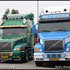 Line up Volvo NH12-BorderMaker - Retro Truck tour / Show 2018